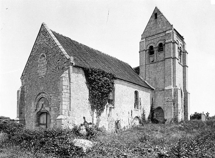 Eglise de Noël-Saint-Martin (ancienne) Ensemble sud-ouest, Durand, Eugène (photographe),