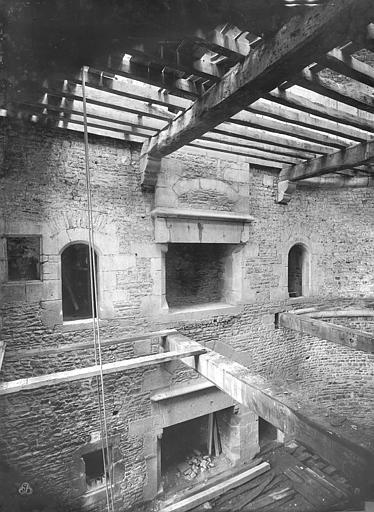 Château Tour Raoul, intérieur, rez-de-chaussée et premier étage, Durand, Jean-Eugène (photographe),