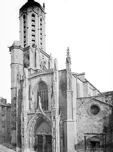 Cathédrale Saint-Sauveur Façade ouest, Mieusement, Médéric (photographe),