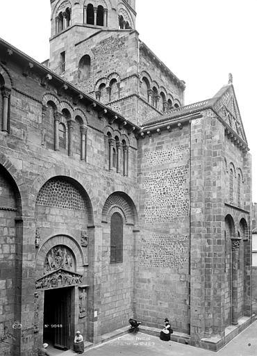Eglise Notre-Dame-du-Port Transept sud, Durand, Eugène (photographe),