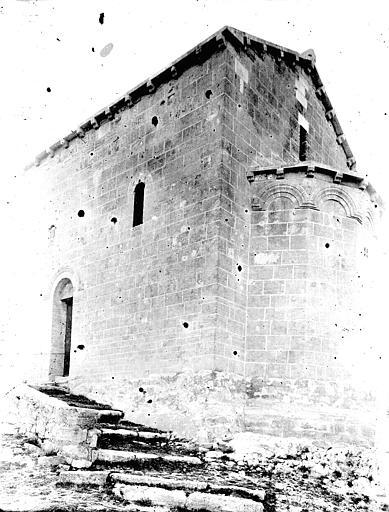 Chapelle Notre-Dame-de-Belvezet Ensemble sud-est, Enlart, Camille (historien),
