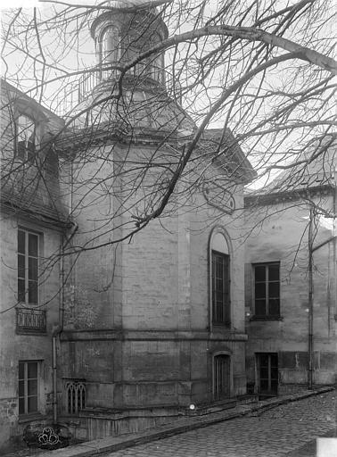 Château de Conflans (ancien) Chapelle : façade, Durand, Jean-Eugène (photographe),