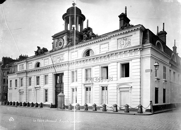 Arsenal (ancien) Façade principale, Mieusement, Médéric (photographe),