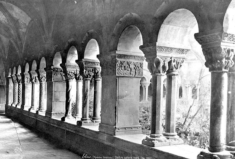Eglise Cloître : Vue intérieure de la galerie nord, Mieusement, Médéric (photographe),