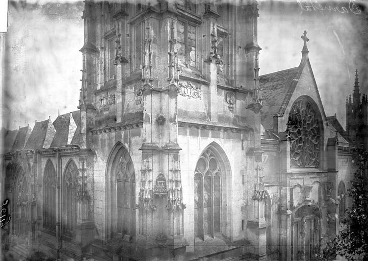 Eglise Clocher, partie médiane, Enlart, Camille (historien),