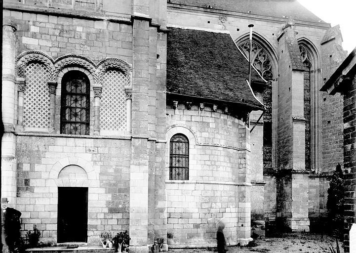 Eglise Saint-Taurin Transept et abside, Enlart, Camille (historien),