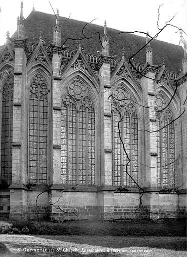 Chapelle de la Vierge dite Sainte-Chapelle Fenêtres, ensemble nord, Mieusement, Médéric (photographe),