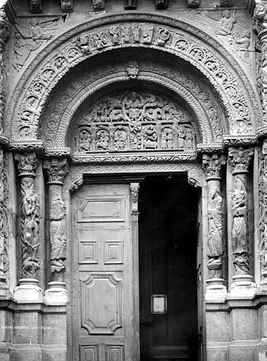 Eglise Portail de la façade ouest, Durand, Jean-Eugène (photographe),