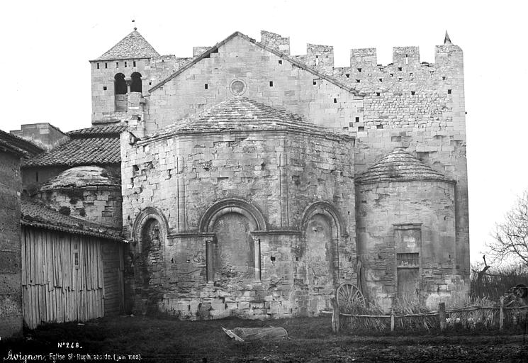 Abbaye de Saint-Ruff (ancienne) Abside, Mieusement, Médéric (photographe),
