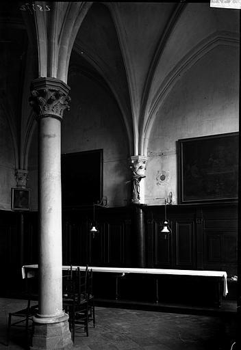 Hôtel-Dieu (supposé) Intérieur, Enlart, Camille (historien),