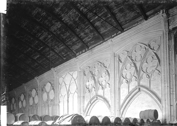 Eglise des Augustins Intérieur, Enlart, Camille (historien),