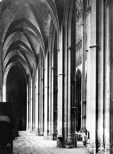 Eglise Saint-Ouen Bas-côté côté sud, Durand, Eugène (photographe),