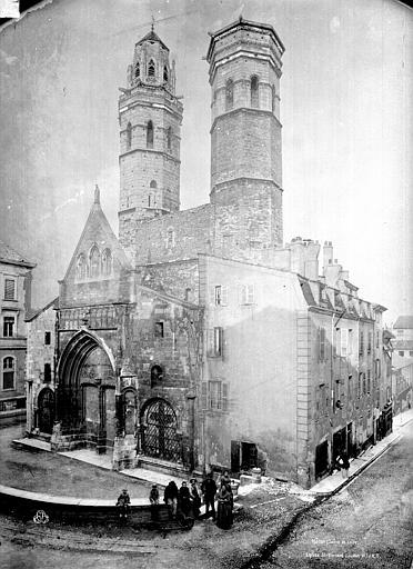 Eglise Saint-Vincent Ensemble ouest, Durand, Eugène (photographe),