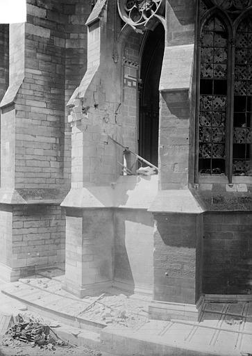 Cathédrale Notre-Dame Chapelle absidale (détail), Sainsaulieu, Max (photographe),