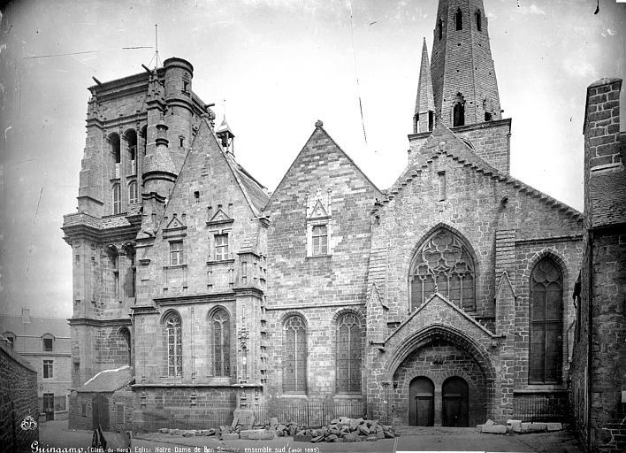 Eglise Notre-Dame-du-Bon-Secours Façade sud, Mieusement, Médéric (photographe),