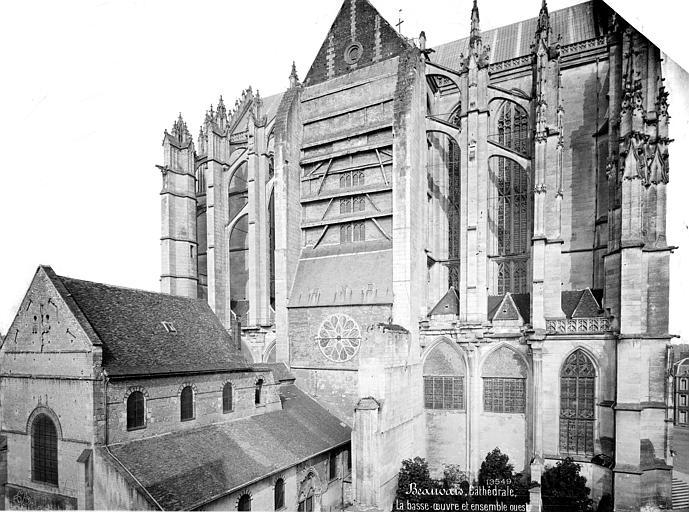 Cathédrale Saint-Pierre Ensemble nord et basse œuvre, Mieusement, Médéric (photographe),