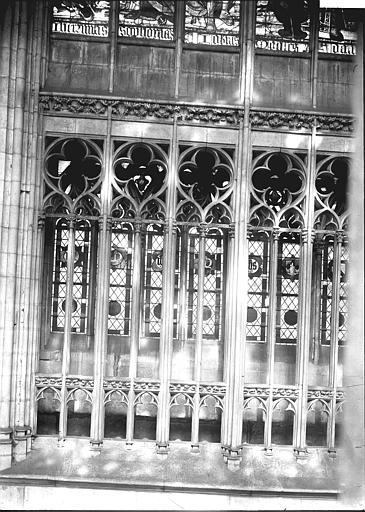 Cathédrale Notre-Dame Fenêtre: partie basse, Enlart, Camille (historien),