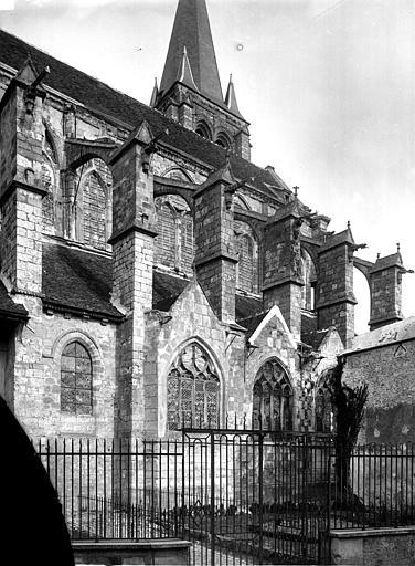 Eglise Saint-Etienne Eglise, partie nord, Durand, Eugène (photographe),