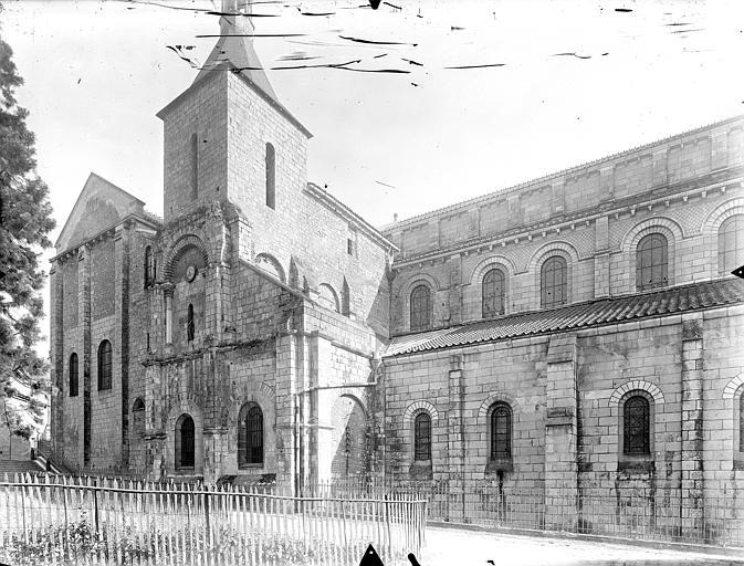 Eglise Saint-Hilaire-le-Grand Façade nord, Gossin (photographe),