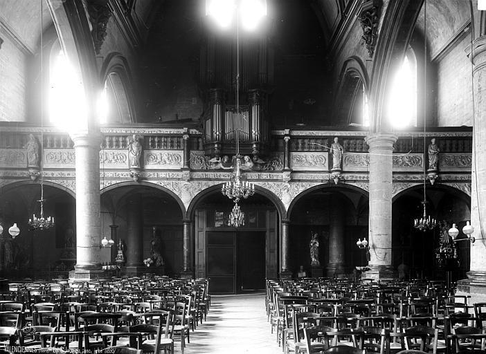 Eglise Saint-Jacques Jubé, Robert, Paul (photographe),
