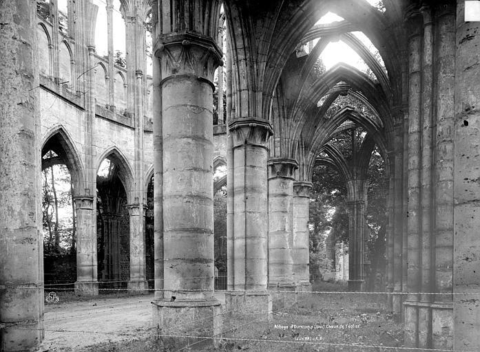 Abbaye (ancienne) Eglise, choeur et transept, Durand, Eugène (photographe),