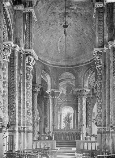 Eglise Notre-Dame-la-Grande Choeur, Durand, Eugène (photographe),