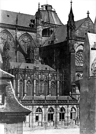 Cathédrale Notre-Dame Façade sud : Partie centrale, Le Secq, Henri (photographe),