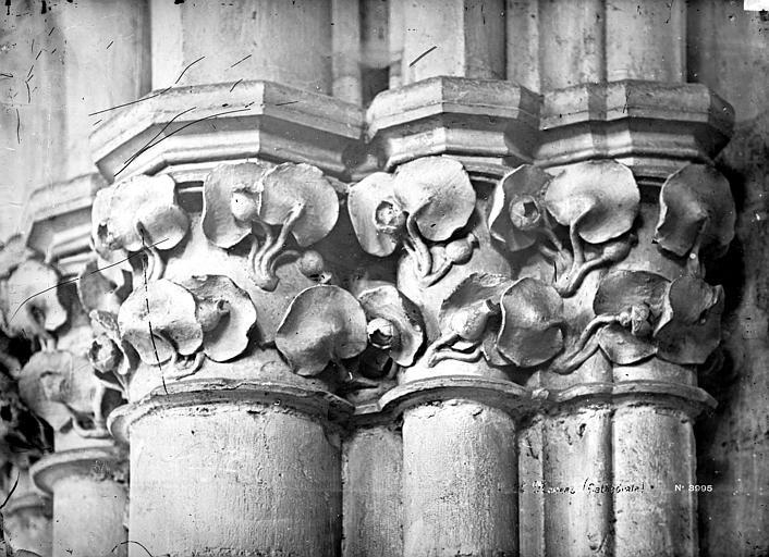 Cathédrale Saint-Cyr-et-Sainte-Julitte Chapiteau de la nef, Mieusement, Médéric (photographe),