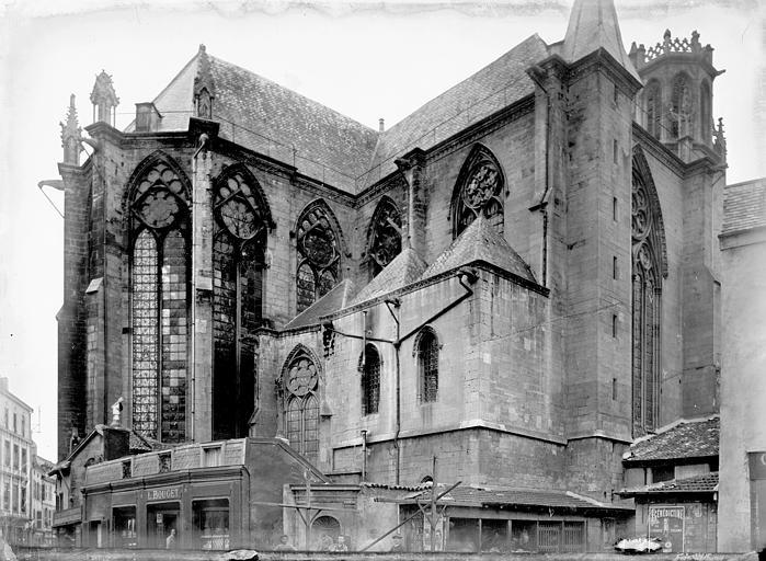 Eglise Saint-Gengoult Abside au nord, Enlart, Camille (historien),