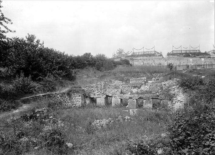 Ruines gallo-romaines Thermes, Durand, Jean-Eugène (photographe),