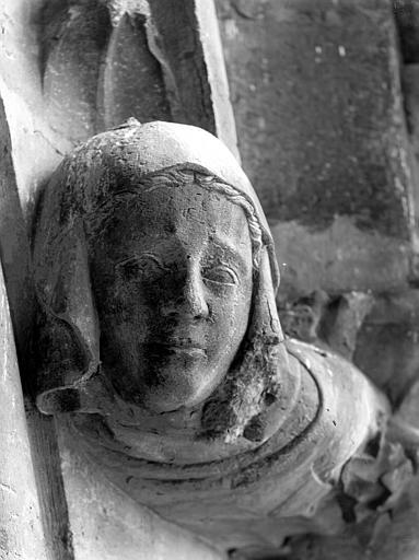 Cathédrale Notre-Dame Tête d'amortissement d'arc, Lajoie, Abel,