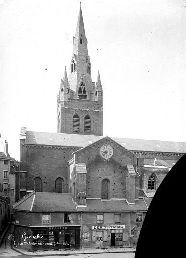 Eglise Saint-André Façade nord : Transept et clocher, Mieusement, Médéric (photographe),