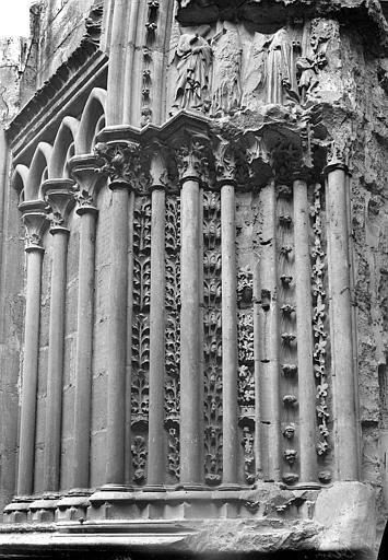Basilique Saint-Denis Portail du transept sud : Ebrasement gauche, Vorin,
