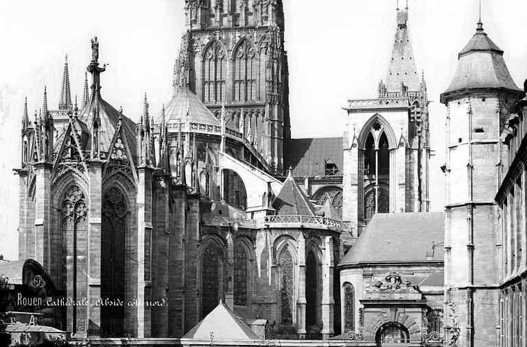 Cathédrale Notre-Dame Angle sud-est, Mieusement, Médéric (photographe),