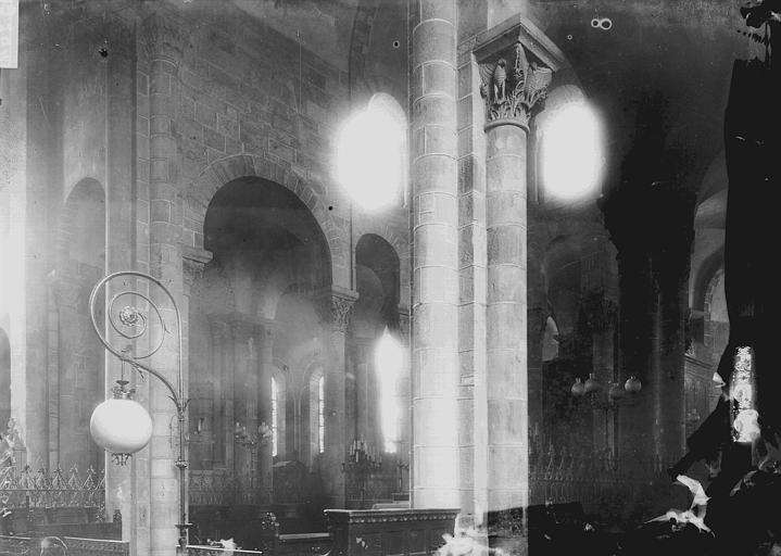 Eglise Notre-Dame-du-Port Vue diagonale du choeur, Enlart, Camille (historien),