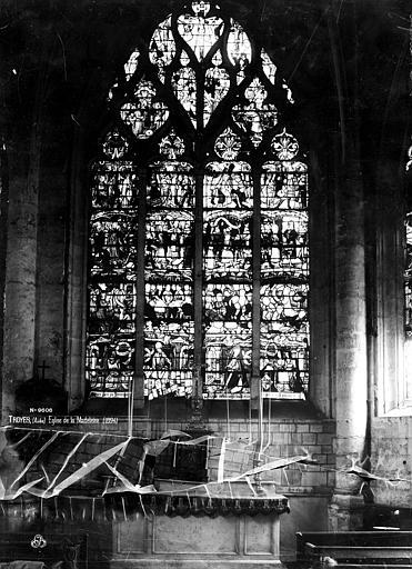 Eglise de la Madeleine Vitrail, Vie du Christ, Robert, Paul (photographe),