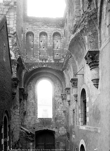 Abbaye du Ronceray (ancienne) Eglise, transept sud, intérieur, Mieusement, Médéric (photographe),