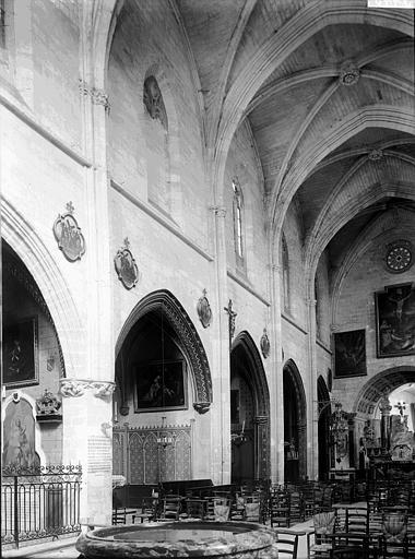 Eglise Notre-Dame Nef: partie, Enlart, Camille (historien),