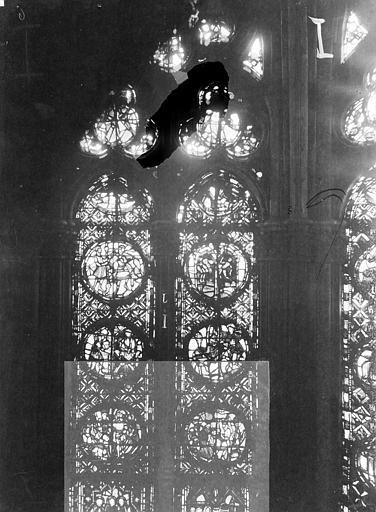 Cathédrale Notre-Dame Chapelles du choeur, vitrail I, Gaudin,