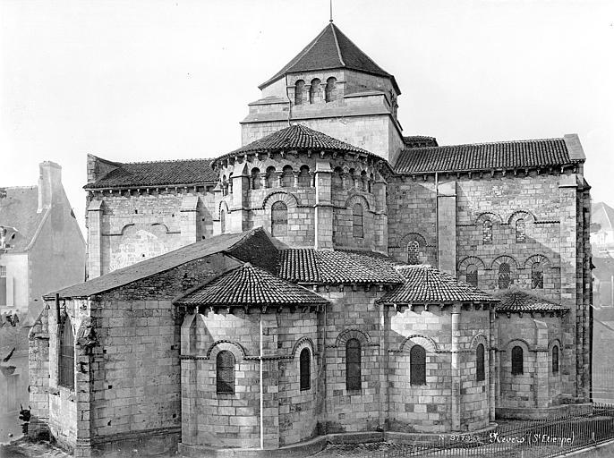 Eglise Saint-Etienne Ensemble est, Mieusement, Médéric (photographe),