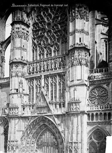 Cathédrale Saint-Pierre Transept sud : partie supérieure, Mieusement, Médéric (photographe),