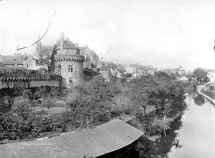 Remparts (anciens) Vue générale, Durand, Jean-Eugène (photographe),