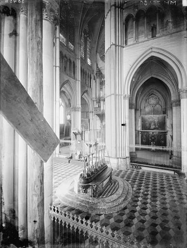 Cathédrale Notre-Dame Bras nord du transept, grand autel, Lajoie, Abel,