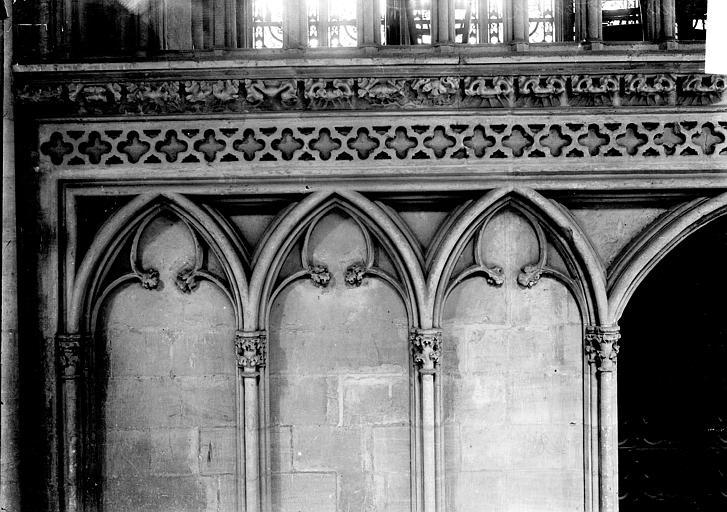 Cathédrale Bras sud du transept: détail, Enlart, Camille (historien),
