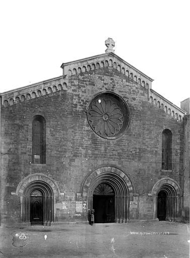 Eglise Façade ouest, Durand, Eugène (photographe),