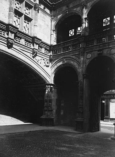 Hôtel Bernuy Vue, Chaine, Henri (architecte),