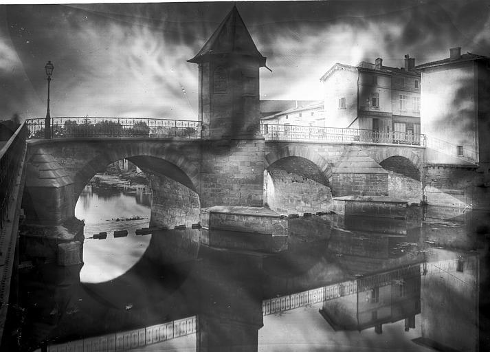 Pont Vue d'ensemble, Enlart, Camille (historien),