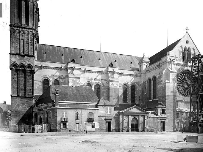 Cathédrale Saint-Maurice Façade sud, Mieusement, Médéric (photographe),
