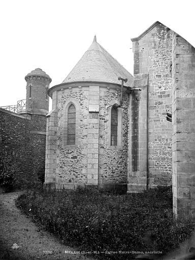 Eglise Notre-Dame Petite chapelle, Durand, Eugène (photographe),