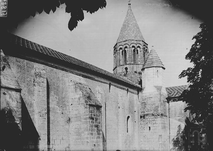 Eglise Saint-Jean-Baptiste Clocher, Enlart, Camille (historien),